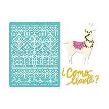 Sizzix Thinlits & Embossing Folder - Como se Llama