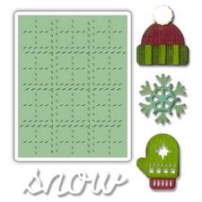 Tim Holtz Sizzix Thinlits - SideOrder Set / Winter