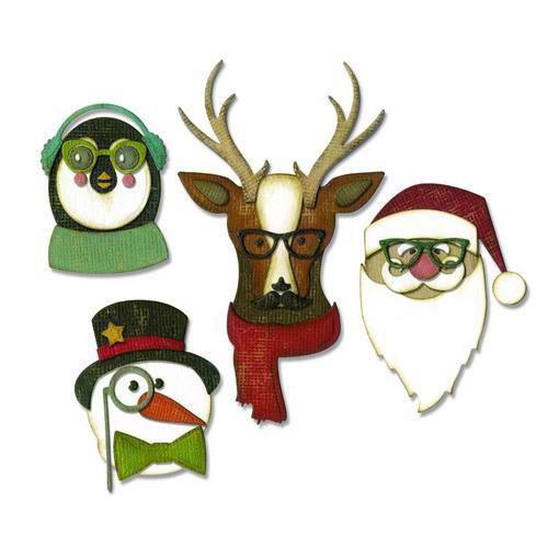 Sizzix Thinlits - Tim Holtz / Cool Yule