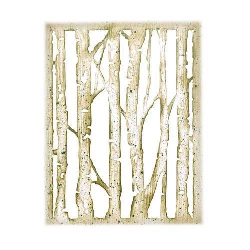 Sizzix Thinlits - Tim Holtz / Branched Birch