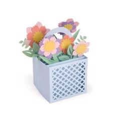 Sizzix Thinlits - Box Flowers Basket (Lynda Kanase)