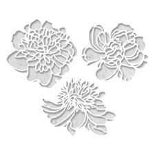 Tim Holtz Sizzix Thinlits - Cutout Blossoms