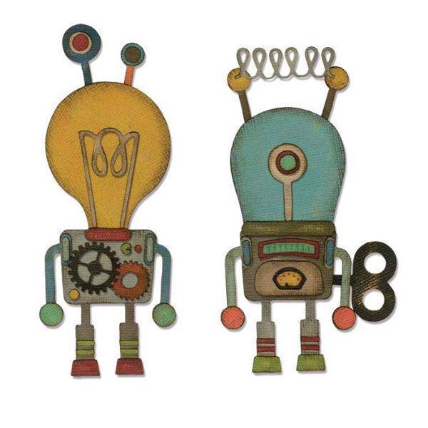 Tim Holtz Sizzix Thinlits - Robotic