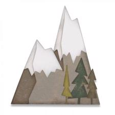 Sizzix Thinlits - Tim Holtz / Alpine