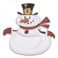 Sizzix Thinlits - Tim Holtz /Mr. Snowman Colorize