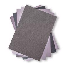 Sizzix Surfacez - The Opulent Cardstock Pack / Charcoal (50 ark)