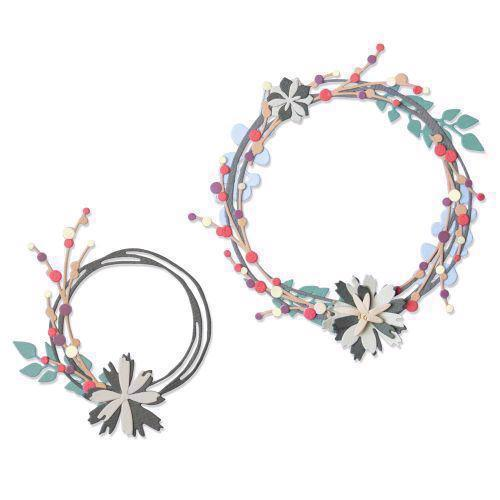 Sizzix Thinlits - Winter Garland