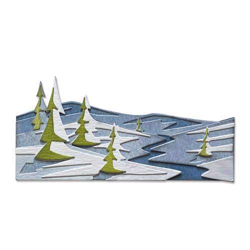 Sizzix Thinlits / Tim Holtz - Colorize / Snowscape
