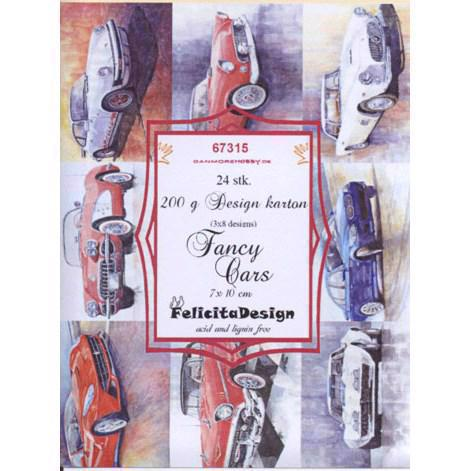 Felicita Design Card Toppers - Fancy Cars