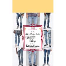Felicita Design Card Toppers - Hipster Boy