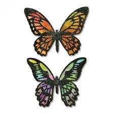 Sizzix Thinlits - Tim Holtz / Detailed Butterflies