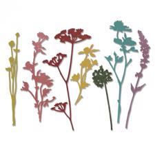 Sizzix Thinlits - Tim Holtz / Wildflowers