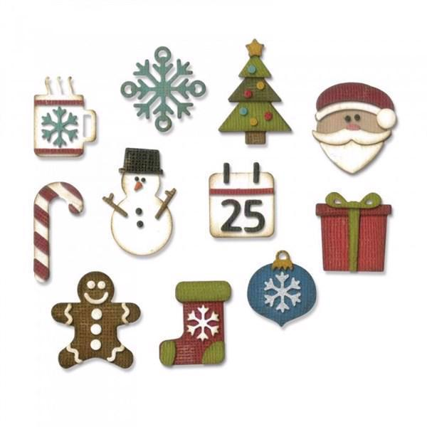 Sizzix Thinlits - Tim Holtz / Mini Christmas Things