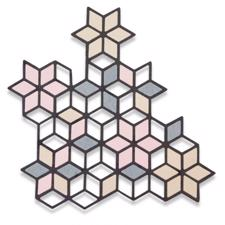 Sizzix Thinlits - Diamond Cluster
