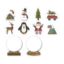 Sizzix Thinlits - Tim Holtz / Tiny Snowglobes