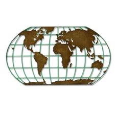 Sizzix Thinlits - Tim Holtz / Destination (globe)