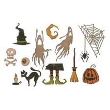 Sizzix Thinlits - Tim Holtz / Frightful Things