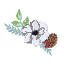 Sizzix Thinlits - Layered Winter Flower