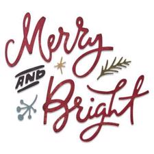 Sizzix Thinlits / Tim Holtz - Merry & Bright