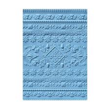 Sizzix 3D Embossing Folder - Folk Art Pattern