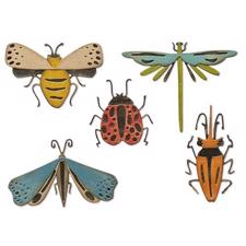Sizzix Thinlits / Tim Holtz - Funky Insects