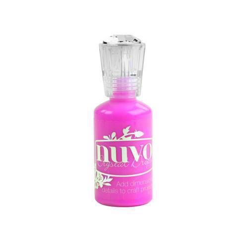 Nuvo Crystal Drops - Party Pink