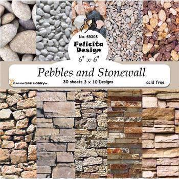 Felicita Design Papir Blok - Pebbles and Stonewall