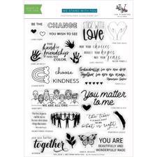 The Stamping Village Stamp Set - We Stand With You