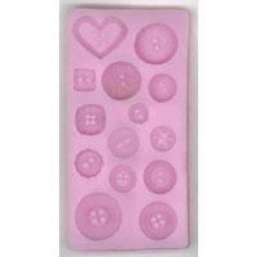 Silicone Mould - Buttons