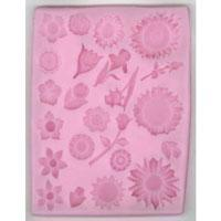 Silicone Mould - Multi Flowers