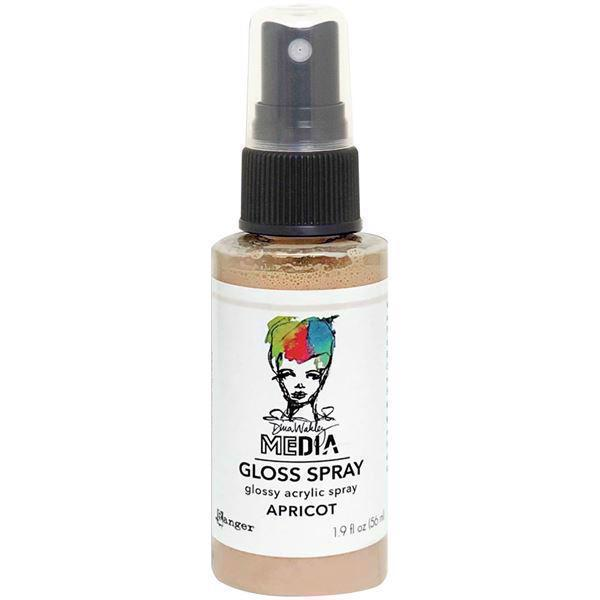 Dina Wakley Media Gloss Spray - Apricot