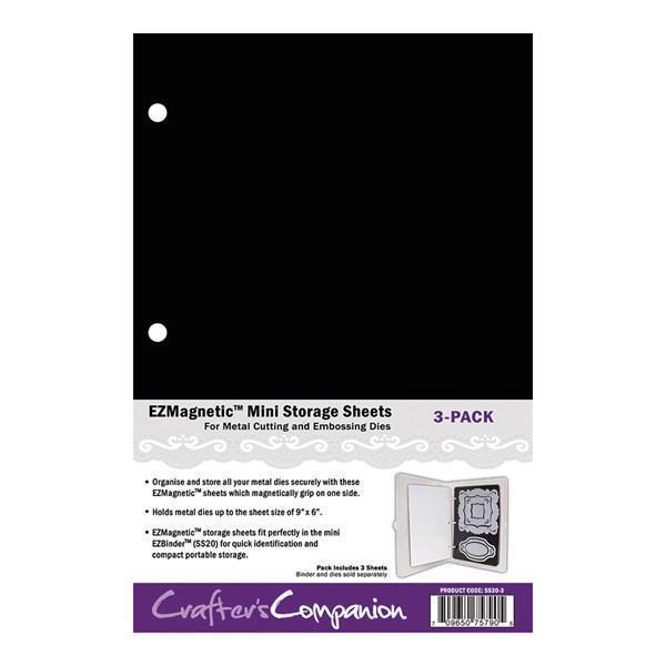 EZ / Crafter\'s Companion Storage - Magnetic Sheets for Dies (MINI size)