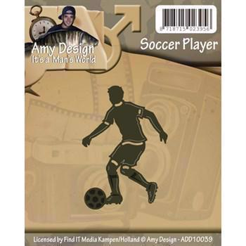 Amy Design Die - Soccer Player