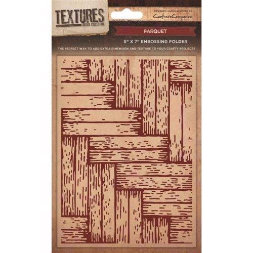 Crafters Companion Embossing Folder - Parquet
