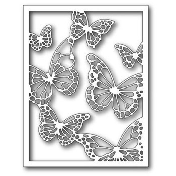 Memory Box Die - Floating Butterfly Frame