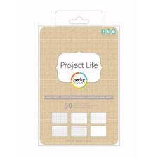 "Project Life - 4x6"" Kraft Cards"