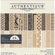 "Authentique Bundle 6x6"" - Accomplished"