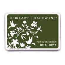 Hero Arts Shadow Ink Pad - Midtones / Forever Green