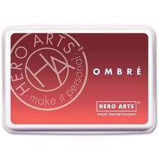 Hero Arts Ombre Ink Pad - Light to Red Royal