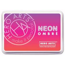 Hero Arts Ombre Ink Pad - Neon / Red to Purple