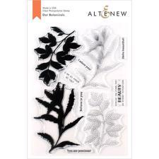 Altenew Clear Stamp Set - Dot Botanicals