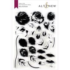 Altenew Clear Stamp Set - Rosy Outlook