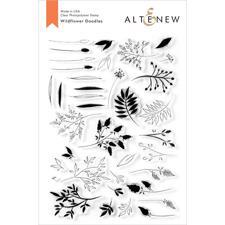 Altenew Clear Stamp Set -  Wildflower Doodles