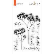 Altenew Clear Stamp Set - Fragile Foliage