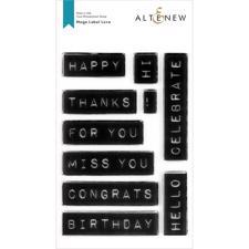Altenew Clear Stamp Set - Mega Label Love