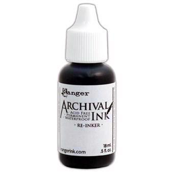 Archival Ink Re-Inker - Distress Colors / Black Soot