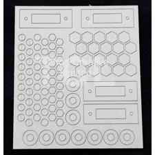 Tando Creative Chipboard - Andy Skinner Industrial Elements Bolts & Washers Sheet