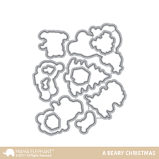 Mama Elephant Creative Cuts - A Beary Christmas (dies)