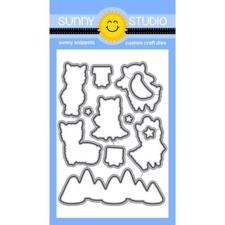 Sunny Studio Stamps - DIES / Alpaca Holiday