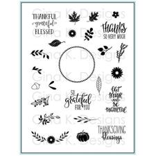 Gina K Design Clear Stamps - Autumn Wreath Builder